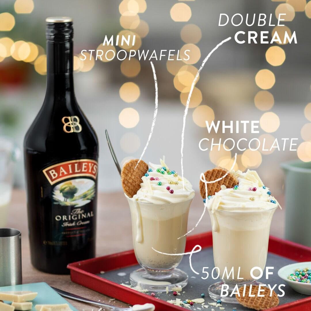 Baileys White Hot Chocolate